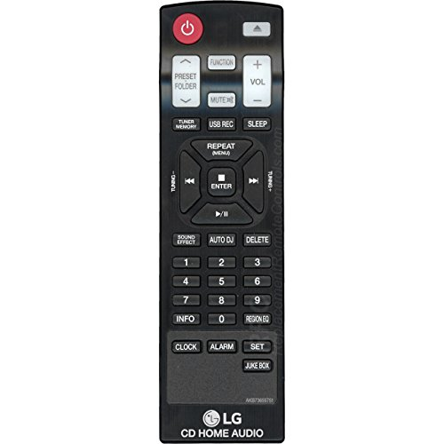 OEM LG Remote Control Originally Shipped With: CM8440, CM8440FB