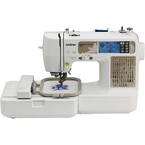 Brother Sewing and Embroidery Machine, 67 Built-in Stitches Model...