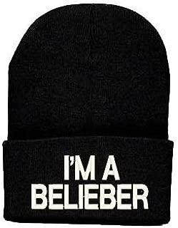Lengendy I'm A Belieber Beanie Justin Bieber Interpretation Hat (Black)
