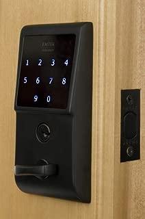 Emtek E3020 EMTouch Electronic Keypad Deadbolt from the Brass Modern Collection, Flat Black