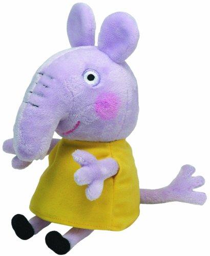 Carletto Ty 46173 Emily Elephant Peppa Pig Plüsch, Gelb
