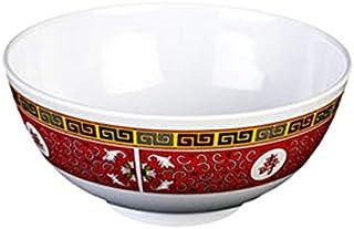 2Pcs Rice Bowl Imitation Porcelain Melamine Soup Bowls 4.5//5.5 inch Bowl