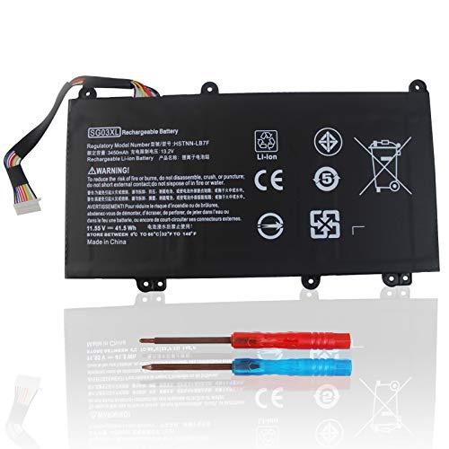 New SG03XL Laptop Battery Compatible with HP Envy M7 M7-U009DX M7-U109DX 17-U000 17t-U000 M7-U000...