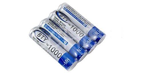 Lot de 4 piles rechargeable ACCU LR03 AAA 1000 mAh Neuf