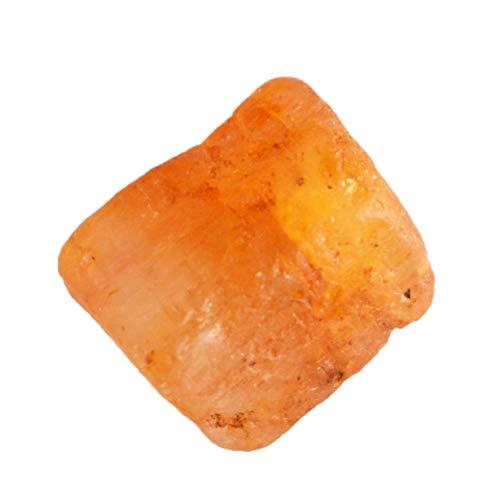 Topazio imperiale brasiliano naturale grezzo, dimensioni 11x10x7 MM, pietra per anello, creazione di gioielli, pietra pendente, esemplari minerali di cristallo, grezzo AG-15422