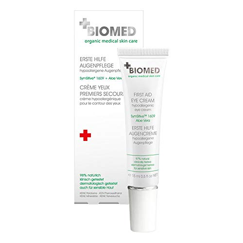 BIOMED Erste Hilfe Hypoallergene Augenpflege, 15 ml