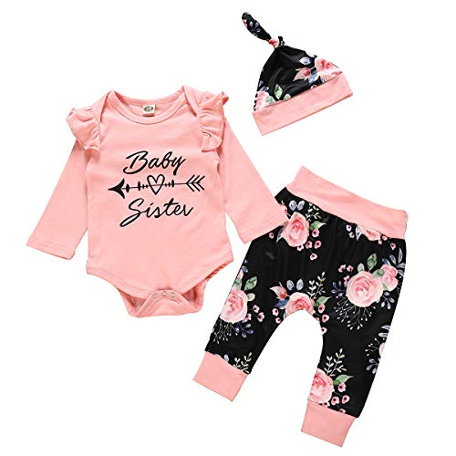 Gyratedream Girls Boys Cotton Pyjamas Shark Printed Tops Pants Outfits Baby Sleepwear Nightwear Underwear Homewear for 0-24 Months Infants
