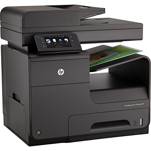 HP Officejet Pro X576dw e-All-in-One Tintenstrahl Multifunktionsdrucker (A4, Drucker, Scanner, Kopierer, Fax, Dokumentenecht, Wlan, USB, 1200x1200) CN598A#A80