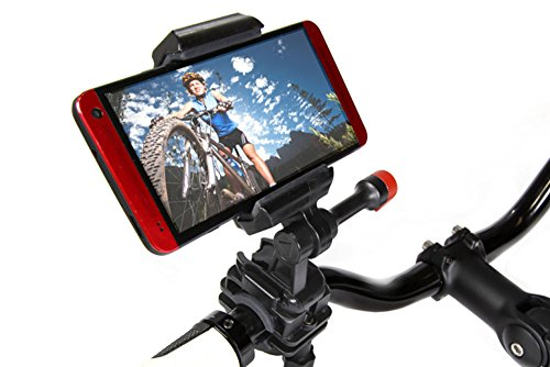 Velocity Clip Bike Handlebar Video Mount Compatible With Samsung Galaxy Models