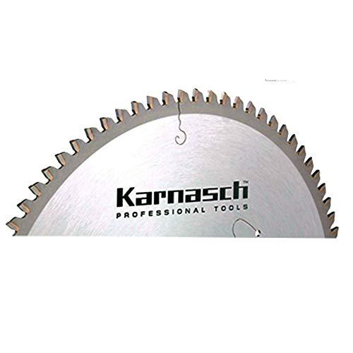 Karnasch HM-Blatt, HM-bestücktes Kreissägeblatt, Sägeblatt, Alu Negativ Dünnschnitt, 250 x 2,8 x 30mm 80 TFND
