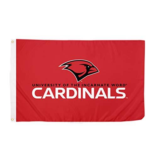 Desert Cactus University of The Incarnate Word UIW Cardinals 100% Polyester Indoor Outdoor 3 feet x 5 feet Flag