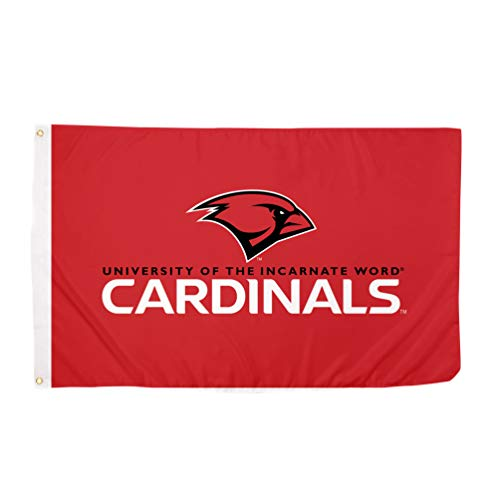 Desert Cactus University of The Incarnate Word UIW Cardinals 100% Polyester Indoor Outdoor 3 feet x 5 feet Flag