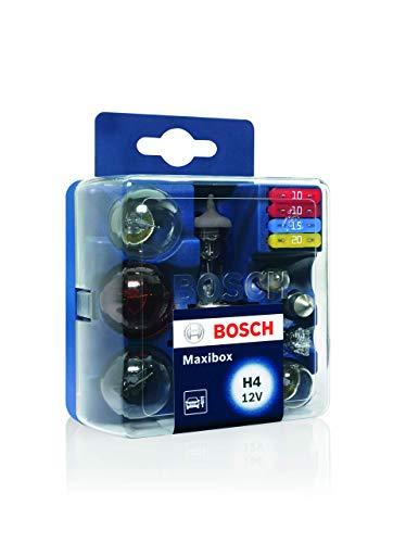 Estuche de lámparas de repuesto Bosch Maxibox H4 12V