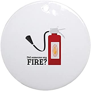 OSWALDO Fire Alarm Ornament - Round Holiday Christmas Ornament
