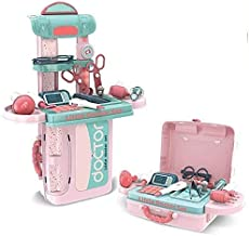 ESnipe Mart® 3 in 1 Premium Quality Learning Educational Doctor Set Toy Briefcase Model for Kids Boy and Girl