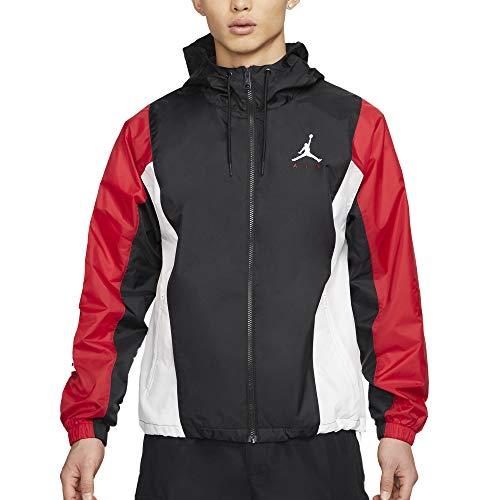 Jordan Jumpman Air - Chaqueta para hombre, color negro, cód. CV2240-010 negro/ rojo/blanco XXL