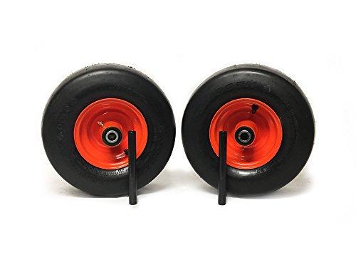MowerPartsGroup (2) Bad Boy Pneumatic Wheel Assemblies 13x6.50-6 Fits ZT Outlaw Repl 022-1050-00