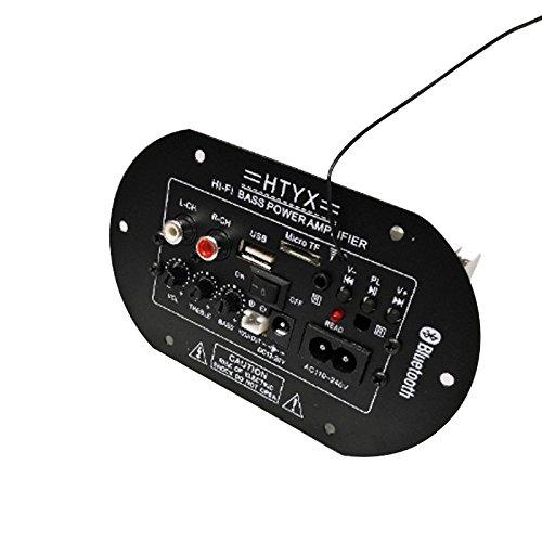 WOVELOT 12V-220V Bluetooth Altavoz de Graves Amplificador Tablero de Coche Placa Madre...