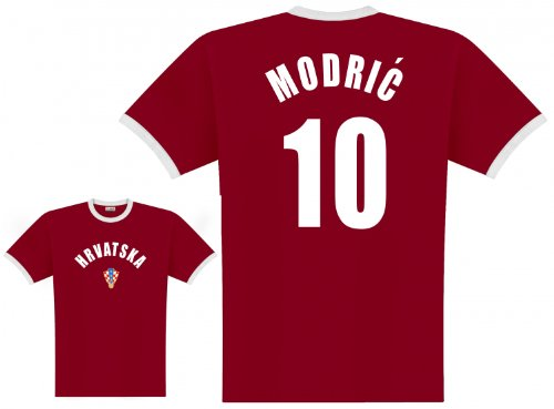 World of Football Player Shirt Kroatien Modric - S