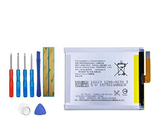 Upplus E-YIIVIIL LIS1618ERPC - Batería de repuesto compatible con Sony Xperia XA F3111 F3112 F3113 F3115 con kit de herramientas