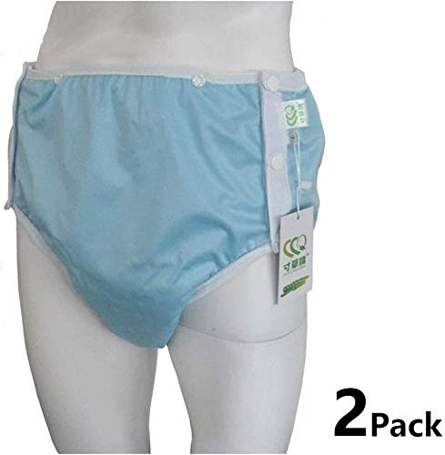 Miaoao-HL Inkontinenz-Unterwäsche for Männer & Frauen, 2 Stück for Erwachsene Windelhosen,...