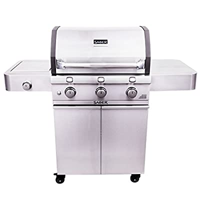 Saber Grills R50CC0317 Cast Stainless Grill