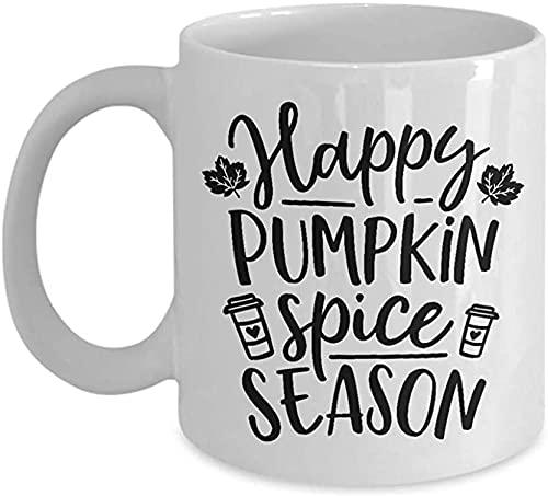 Keyboard cover Regalo para el día de la madre, taza de otoño, Happy Pumpkin Spice Season Novedad, regalo para hombres y mujeres