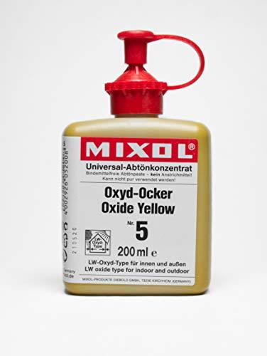 200ml MIXOL Universal Abtönkonzentrat #5 Oxyd Ocker