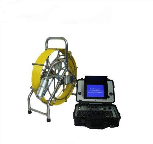 MABELSTAR 60 m cable cctv drenaje alcantarillado cámara de vídeo robot 8 pulgadas color pantalla LCD cámara de inspección de fontanería