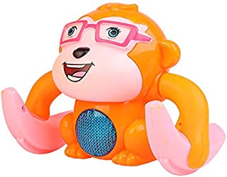 XXXVV Singing Doll Princess Toys Bonus Wings, Dancing Doll Toy - Remote Control Free, Battery Operated Electronic Bump-N-Go Toy Projection Light Up Toy, Robots for Little Girls, Toddlers, Young Kids