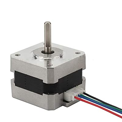 HshDUti Stepper Motor Nema17 Shaft for 5mm Pulley RepRap CNC Prusa Rostock 3D Printer Accessories