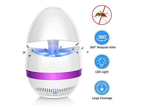 WYJW lamp voor muggenverjager, lage spanning, insectenverdrijver, waterdicht, fotokatalytisch, waterdicht, geen mortel, vooral insecten
