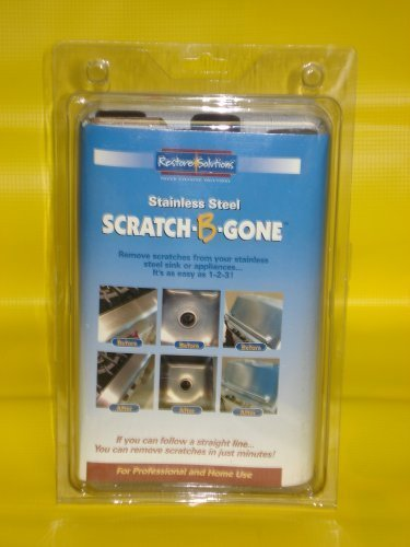Scratch-B-Gone Stainless Steel Scratch Repair Kit, Model: , Electronics & Accessories Store