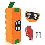 BuTure Batería de Reemplazo 14.4V 4500mAh Ni-MH para iRobot Roomba, Compatible con Robot 500 600 700 800 Series 510 520 530 531 532 535 545 550 560 563 570 580 590 600 615 650 660 760 770 772 772e