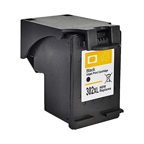 RICR Cartuchos De Tinta Remanufacturados para Reemplazo De para HP302XL, Compatible para HP DeskJet1110 1115 2130 2135 3630 3830 OfficeJet 4650 Impresora BK