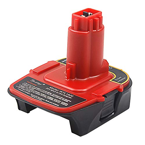 AOYAN DCA1820 20V Battery Adapter Replacement for DeWalt 18V Tools Compatible DC9096 DC9182
