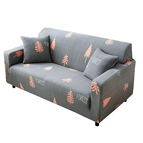 Shaoyao Sofa Überwürfe Sofabezug 1/2/3/4-Sitz-Überwurf Stretch Elastische Couchbezug Sofahusse Schutzüberzug Abdeckung Pillow Cover X 1 21 2 Sitzer(145-185Cm/57-72)