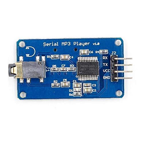 Riproduttore Di Moduli Di Musica Mp3 Di Controllo Decoder Voce Board Serial Sostegno Tf Card Porta Usb Compatibile Con Yx5300 Prodotti Industriali
