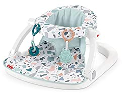 in budget affordable Fisher-Price Sit Me Up Floor Seats-Pacific Pebble, Child Seats