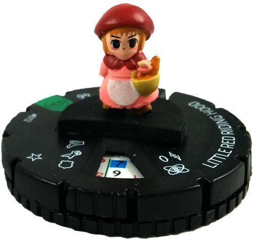 HeroClix Yu-gi-oh! Series 2 012 Little Red Riding Hood Complete with Card
