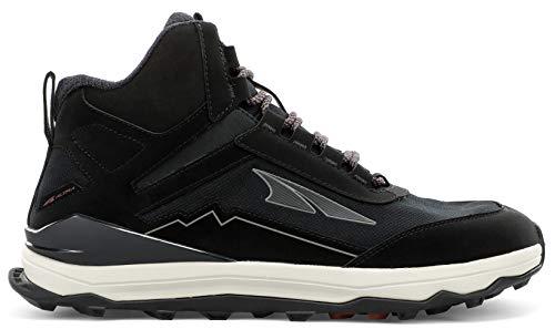 ALTRA Men's AL0A4VQF Lone Peak Hiker Trail Running Shoe, Black - 8 M US