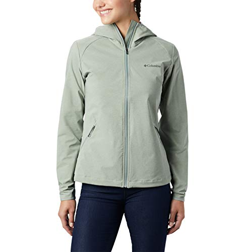 Columbia Damen Softshell-Jacke Heather Canyon, Grau (Light Lichen heather), S