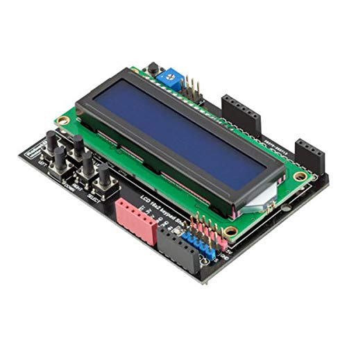 KEMEILIAN Weit verbreitet 5V LCD-Tastatur Shield LCD1602 1602 Anzeigemodul für Arduino - Produkte, die mit verschriebenen Arduino-Boards Arbeiten Dauerhaft