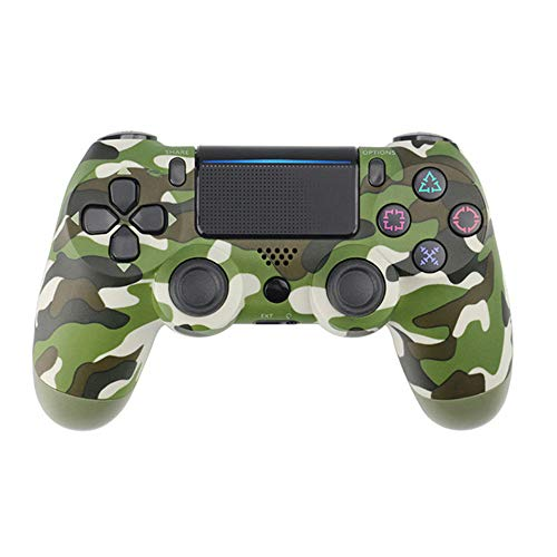 Manette de jeusans filPDTZpour manette de jeu PS4 PS4 GamepadCamouflage Green
