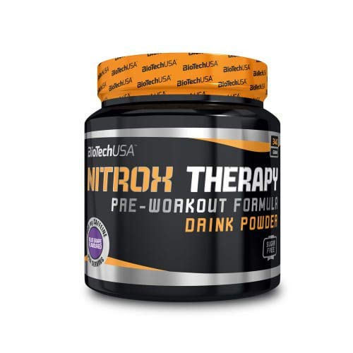Bio Tech USA Nitrox Therapy Supplement, 340 g, Peach