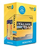 Learn Italian and Unlimited Languages with Lifetime Access: Rosetta Stone Bonus Pack Bundle with Grammar Book and Dictionary