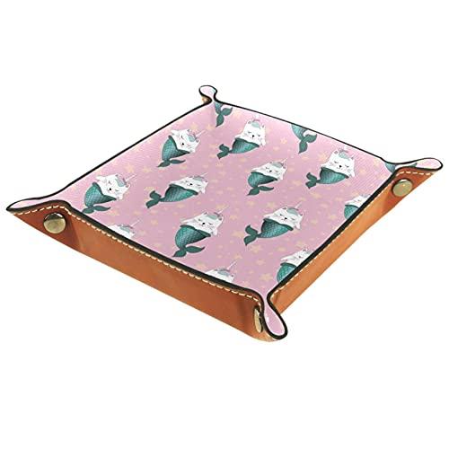 MUMIMI Bandeja de regalo para mujer, diseño de unicornio, color rosa