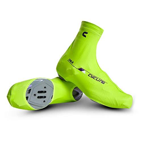 Jtoony-CY Cubrezapatillas de Ciclismo Peso Ligero Fácil de secar A Prueba de Polvo Bicicleta de Carretera Ciclismo Cerradura Cubrezapatos Cubrebotas for Bicicleta Hombres/Mujeres