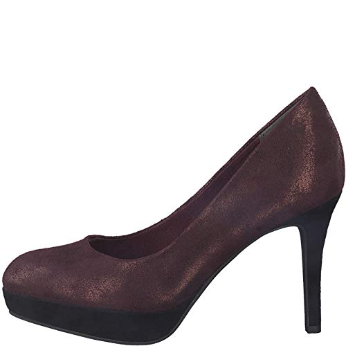 Tamaris 1-22414-21 Schuhe Pumps Plateau Stiletto, Schuhgröße:39, Farbe:Rot