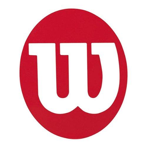 Wilson Sporting Goods Plantilla de plástico, Color Rojo